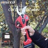 Aletler'ten Elektrikli Makaslar'de 40MM el budama makası 40MM yüksek verimli bahçe ağacı baypas elektrikli budama makası ile LED