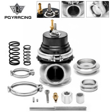 Pqy-60 Mm Wastegate Turbo Externe Kit Met V-Band Flens & Clamp Universal Turbo Externe Waste Gate voor Turbo Spruitstuk 5891BK
