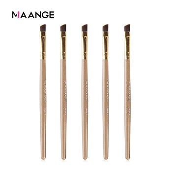 MAANGE Good Quality 2/3//5Pcs Pro Eyebrow Makeup Brushes Set Angled Eyeliner Eyes Brow Powder Cosmetic Beauty Make Up Tool Kits 1