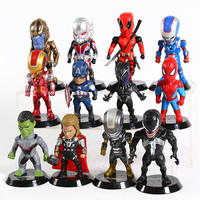 Set of 12 Avengers Collectible Figures  5