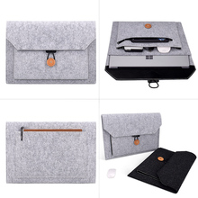 NEW Soft Sleeve Laptop Bag For Macbook Air Pro Retina 11 12 13 14 15 inch Notebook PC Tablet Case Cover for HP Dell Mac book free shipping 11 12 13 14 15 15 6 inch laptop sleeve computer case for macbook air pro retina ultrabook tablet protable soft bag