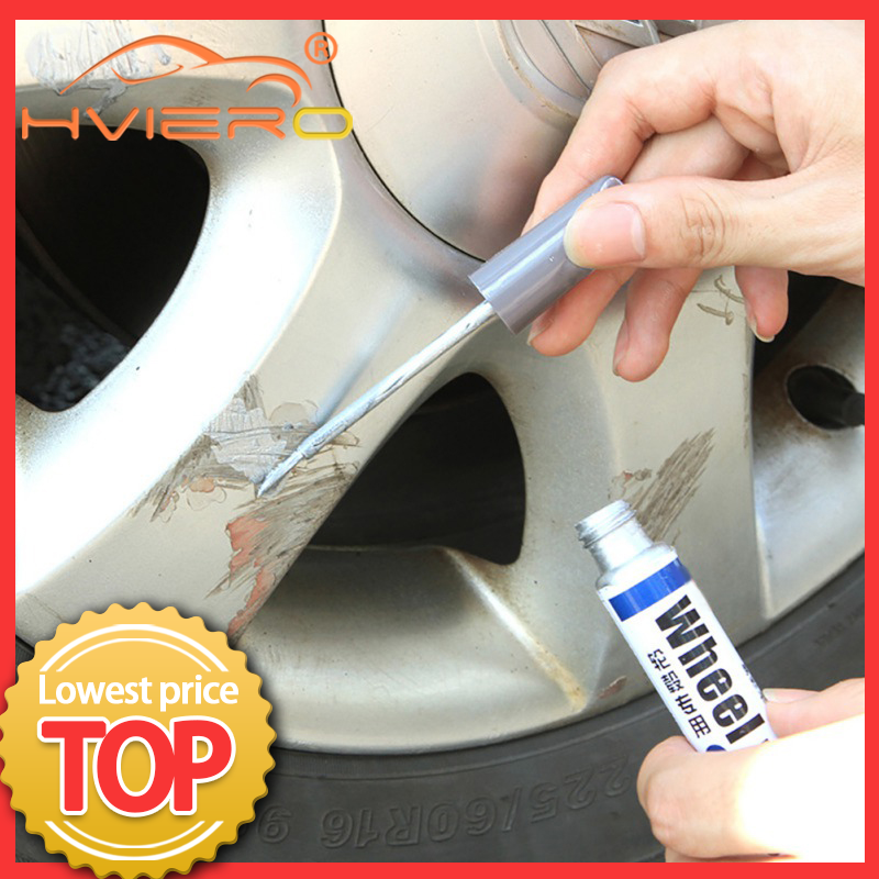 Car Paint Scratch Repair Pen Wheel Touch Up Waterproof Paint Pen Marker Pen Brush Paint Car Tyre Tread Care Spray Paint Repair
