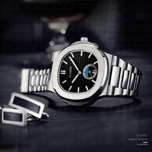 Drop Shipping 2020 New PLADEN Men's Wrist Watch Rado Stainle