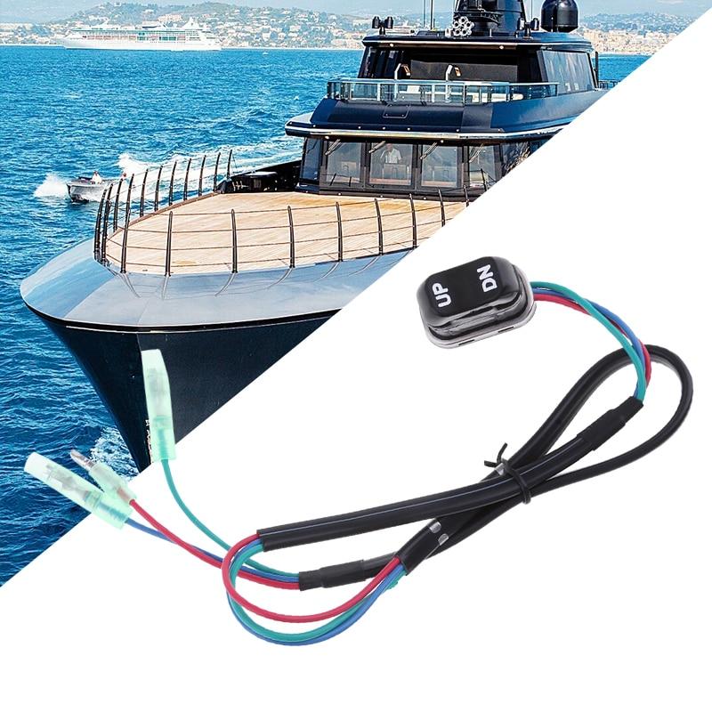 Conjunto de interruptor de inclinación y embellecedor de barco para Yamaha, mando a distancia fuera de borda de Motor de 4 tiempos, y 2000-201-01 2007-2000-02-00, novedad de 703