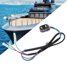 Boot Trim & Tilt Schalter Montage Für Yamaha 4 Hub Motor Außenborder Fernbedienung 703 82563 02 00 & 703 82563 01 2019 neue