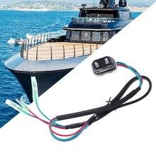 เรือ Trim & TILT SWITCH สำหรับ Yamaha 4 จังหวะมอเตอร์ Outboard รีโมทคอนโทรล 703 82563 02 00 & 703 82563 01 2019 ใหม่