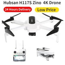 Hubsan H117S Zino GPS Drone 4K 1KM 5G Wifi FPV UHD 4K kamera 3 Axis gimbal hava fotoğrafçılığı fırçasız katlanabilir RC dört pervaneli helikopter