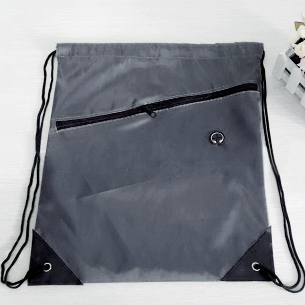 2019 New Men Women Drawstring Bags Swimming Beach Bag Exercise Backpack Sack Bag Small Slot Riding Backpack Gym Shoes Bag