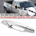 Хромированная внешняя дверная ручка для Chevrolet для GMC для Cadillac 2007-2014 задняя правая 15915660 22738726 25960522