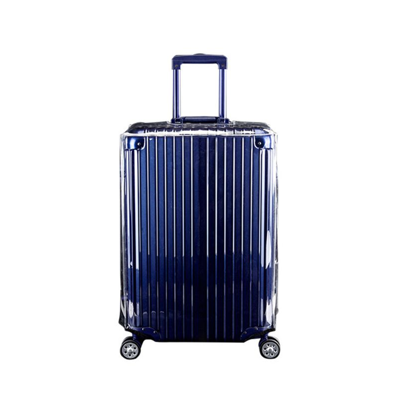 Clear PVC Suitcase Cover Protectors 20 22 24 26 28 30in For Wheeled Luggage Case  517D