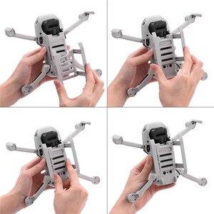 Image 5 - Liberação rápida equipamento de pouso para dji mavic mini zangão acessórios perna aumento altura extensor suporte suporte protetor