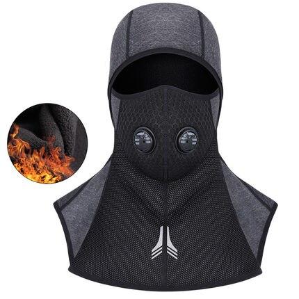 New Motorcycle Face Mask Winter Cap Fleece Thermal Keep Warm Windproof Bicycle Skiing Balaclava Headwear Bike Face Mask Scarf