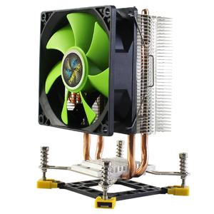 CPU Cooler Master 2 Heatpipes freeze Tower Cooling System CPU Cooling Fan 3PIN 4PIN Single/Double fans cooling Computer Case Fan