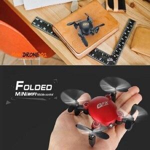 Image 5 - Q2 mini zangão wifi fpv rc dobrável selfie egg drone com câmera 0.3mp 2.4g atitude segurar rc brinquedo de bolso mini corrida quadcopter