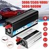 Solar Car Inverter DC12V to AC220V 3000/3500/4000/5000/6000W Max Modified Sine Wave Power Inverter Voltage Transformer Converter 1