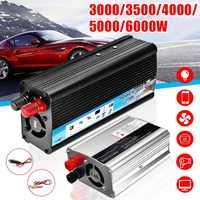 Solar Auto Inverter DC12V zu AC220V 3000/3500/4000/5000/6000W Max Modifizierte Sinus Welle power Inverter Spannung Transformator Konverter
