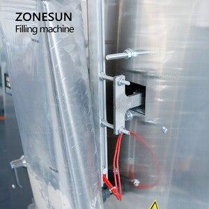 Image 4 - ZONESUN 10 999g Large Capacity Automatic Filling Sealing Machine Food Coffee Bean Grain Powder Bag Back Seal Packaging Machine