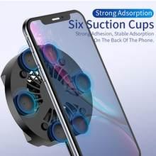 Universal do telefone móvel radiador de jogos telefone cooler ajustável ventilador portátil titular dissipador calor para iphone samsung huawei xiaomi