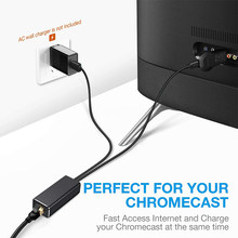 Micro Usb 2.0 Naar RJ45 Ethernet Adapter Voor Google Chromecast 2 1 Ultra Audio 480Mbps Fire Tv Stick(China)