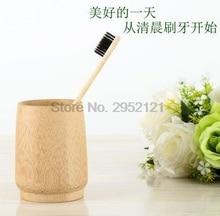 Dhl ИЛИ ems 200 шт экологически чистый натуральный бамбуковый уголь зубная щетка мягкая низкоуглеродная деревянная ручка портативная зубочистка щетка