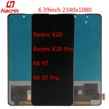 Screen For Xiaomi Mi 9T 9T Pro LCD Display+Touch Screen No Dead Pixel Screen with frame Replacement for Xiaomi Redmi K20 K20 Pro 10piece lot for xiaomi redmi k20 k20 pro case flip leather cases for xiaomi mi 9t mi 9t pro stand case pu leather cover