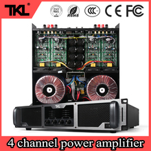 TKL 8ohm 4ch * 600W professional amplifier for conference performance home karaoke power amplifier