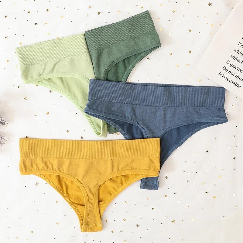 Thongs G-String Women Panties Sexy Lingerie Shapewear Pantys Girls Seamless Underpants Female Intimates Underwear M-XL Design