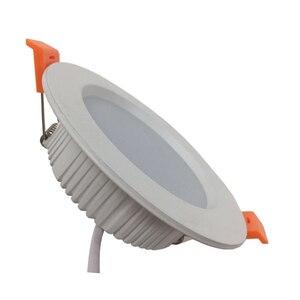 Image 5 - LED ダウンライト 3 ワット 5 ワット 7 ワット 9 ワット 12 ワット 15 ワット 18 ワット 24 ワット 30 ワット AC 220 220v 防水天井ランプウォームホワイトコールドホワイト凹型 LED ランプスポットライト