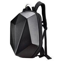 Carbon fiber pattern bag motorcycle backpack helmet storage bag motobike bag for Ducati Yamaha Suzuki KTM BMW Harley Davidson
