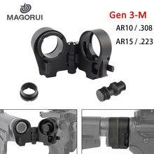 Magorui – carabines tactiques AR15, AR15, 223, 308, M4/M16, Gen3-M AR, adaptateur de Stock pliant, accessoires tactiques de chasse