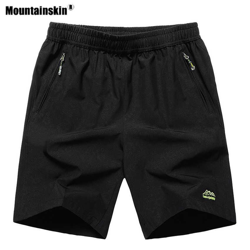 Mountainskin גברים של קיץ מהיר יבש לנשימה מכנסיים בריכת ספורט מסלולי טיולים טרקים ריצה קמפינג זכר מכנסיים 10XL VA636