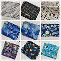 Классическая ткань wide110 см с изображением замка для девочек и мальчиков, ткань из 100% хлопка в стиле пэчворк, материал для шитья, рубашка для п...