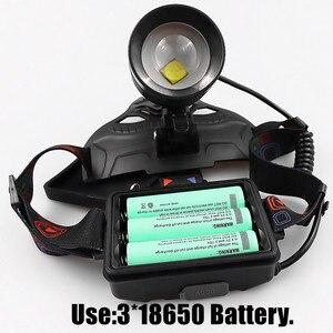 Image 5 - Super bright XHP 70 LED ZOOM Headlamp Fishing headlight Hunting Powerful Lighting Flashlight torch head light
