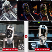crystal Shift Handle Sleeve Button Covers For BMW F20 F30 f10 f32 F25 X5 F15 F16 Interior Accessories LHD
