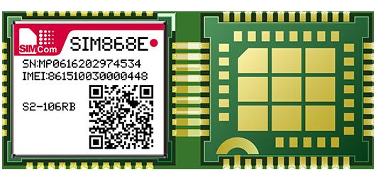 SIMCOM SIM868E GSM/GPRQuad-Band GSM/GPRS+GNSS Module Combines GNSS GPS GLONASS BDS Technology For Satellite Navigation BT4.0