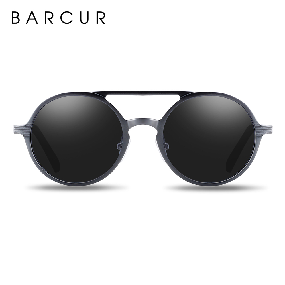 Hot Black Goggle Male Round Sunglasses Luxury Brand Men & Women Glasses Retro Vintage Sun Glasses UV400 Eyewear 11