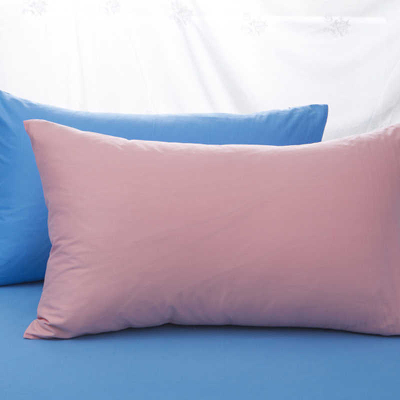 100% Cotton Solid Color Pillowcase 40x60  Size Pillow Case Rectangle Soft Decorative Pillow Covers
