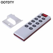 Universal Wireless Learning Code Digital Remote Controller Transmitter 1/2/3/4/6/8/10 Channels Buttons Keypad AK-7010TX