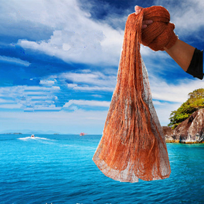 Traditional Net Casting Seine Automatic Fishing Net Old-Fashioned Adult Fishing Gear Tire Cast Net Dumped Network Net Spin Fishi