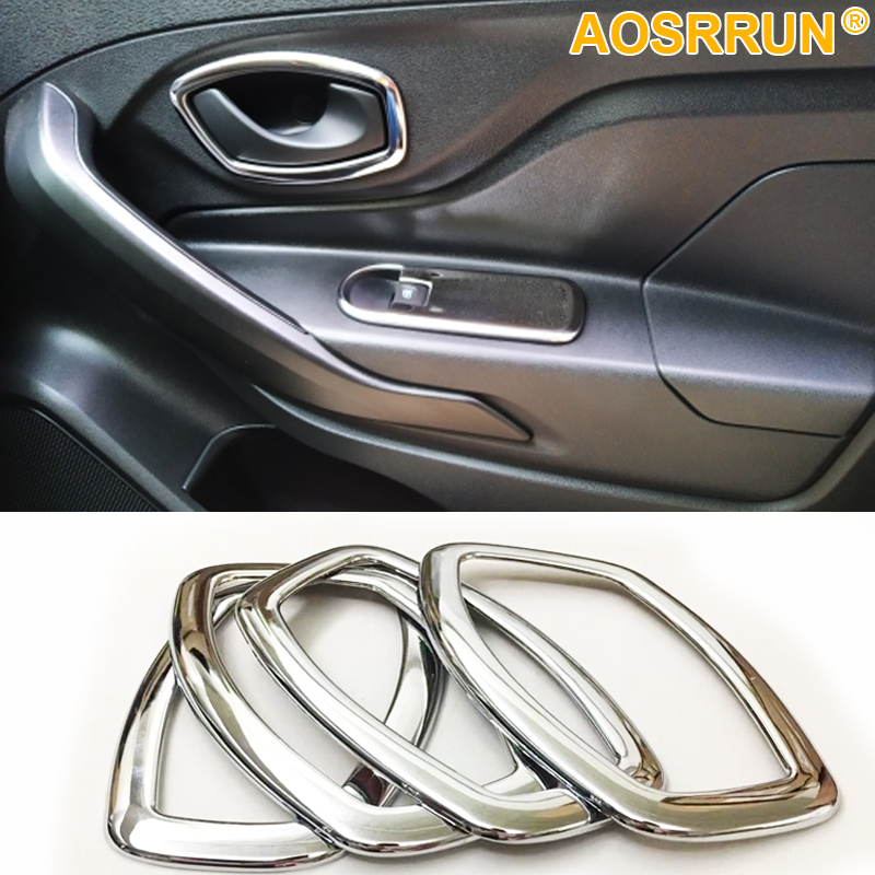 Chrome Steel Door Sill Scuff Plate Cover Trim For Renault CLIO IV 4 RS Grandtour