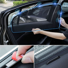 Für Volvo V60 XC90 XC60 S90 S90L V40 Zubehör Auto Sonnenschirm Vorne Hinten Fenster Sonnenschutz Anti-moskito Netting Auto dekoration