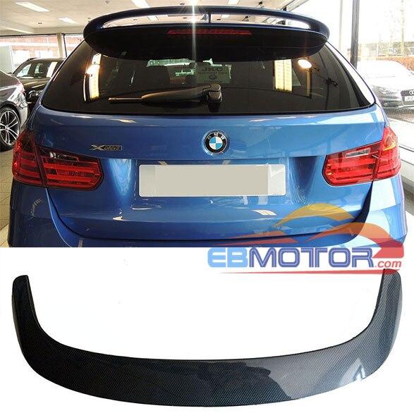 M Stil Gerçek Karbon Fiber Arka BMW için rüzgarlık F31 5 Kapı Modeli 2013up B294