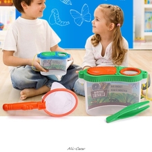 Toy Insect Outdoor Child Exploration-Equipment-Supplies Magnifier Observation-Box Experiment