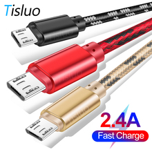 USB Micro Cable For Samsung S8 S9 Huawei P10 Xiaomi Andriod Fast Charging
