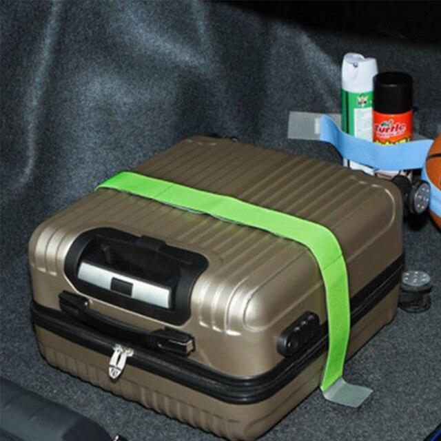 سيارة الجذع ستووينغ المنظم حزام ثابت ضمادة مرنة حزام لاصق اكسسوارات الداخلية التوتير أحزمة