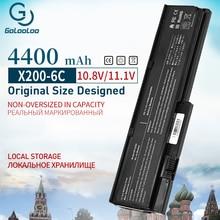 6 Cell Laptop Battery For LENOVO ThinkPad X200 X200S 42T4834 42T4835 43R9254 42T4537 42T4541 42T4536 42T4538 X201 X201i X201S  цена 2017