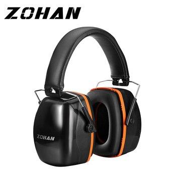 ZOHAN Noise Reduktion Sicherheit Ohrenschützer Kopfhörer NRR 35dB Shooters Gehörschutz Ohrenschützer Einstellbare Ohr Protector Headset