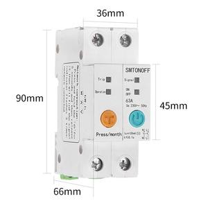 Image 5 - 2p ewelink monofásico ruído trilho wi fi inteligente consumo de energia medidor kwh wattmeter com alexa google para casa inteligente