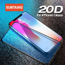 20D Protective Glass for iPhone 11 Pro XS Max tempered glass for iPhone X XR 8 7 6 6s Plus Screen Protector For iPhone 11 glass cheap Suntaiho CN(Origin) Front Film Apple iPhone iPhone 6 iPhone 6 plus iPhone 6s iPhone 6s plus IPHONE 7 IPHONE 7 PLUS IPHONE 8 PLUS