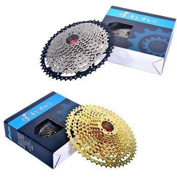 12-Speed Gold Freewheel Mountain Bicycle Freewheel Running Slope Card Type Large Tooth Disc Hollow-out Ultra-Light Freewheel